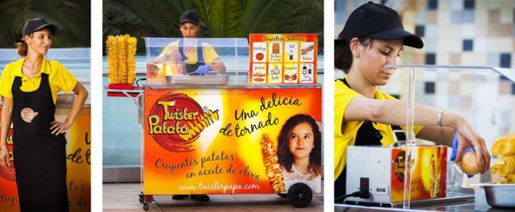 La franquicia Twister Patata comienza su expansión a nivel nacional