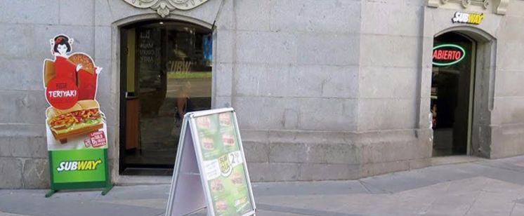 Subway abre una nueva franquicia en Madrid frente a la Puerta de Alcalá