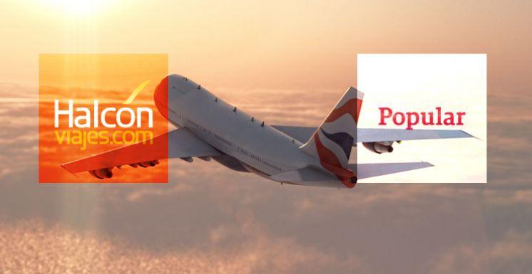 Halcón viajes firma un acuerdo con Banco Popular para ofrecer ventajas a sus franquiciados
